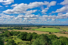 View from Lilleshall Monument
