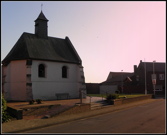 (Hbm)-Isenbruch- Westernmost place of Germany(Chapel Maria Immaculata)