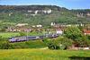 Rame Corail réversible au pied du Jura