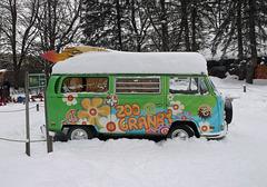 Un zoo l'hiver... / Winter zoo ...