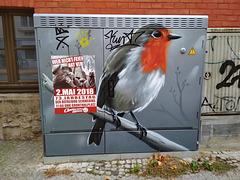 Schwerin, Rotkehlchen