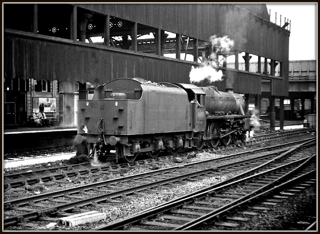 Manchester Victoria station 8th June 1968