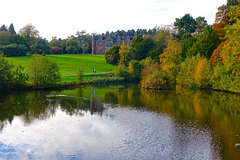 Keele University grounds