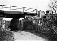 Railway Bridge near Brockham, Surrey.