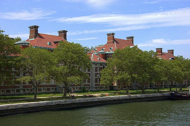 Hospital on Ellis Island