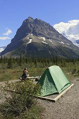 Robson Pass Camp