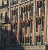Cologne- Christmas Decorations on Hotel Excelsior Ernst