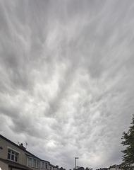 Mammatus over Whirlow 12-Sept-2017 #2