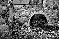 Arch, Betchworth Castle, Surrey.