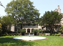 Coe Hall and Fountain at Planting Fields, May 2012