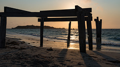 Hamlin Bay jetty