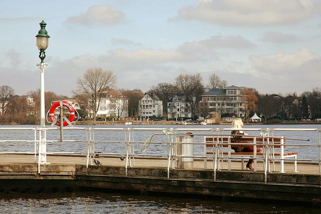Hamburg am Wasser: Anleger Rabenstraße