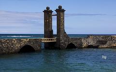 Puente de las bolas, Arrecife de Lanzarote.