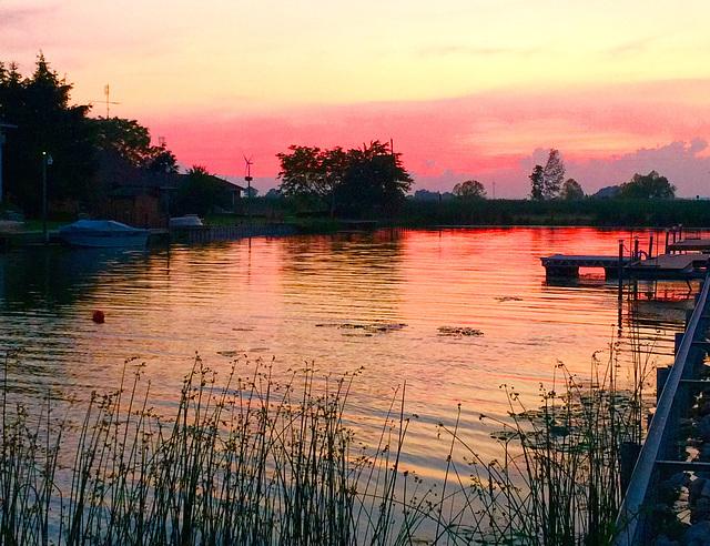 Sunset; Rondeau Bay Estates