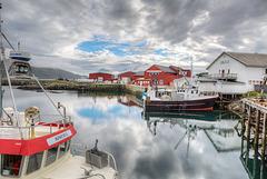#18 - Lofots. Fredvang Harbour. 201408