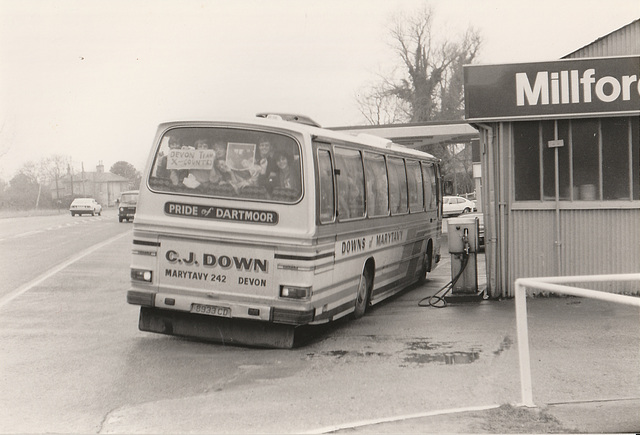 C J Down of Marytavey, Devon 8933 CD at Barton Mills - 24 Mar 1985