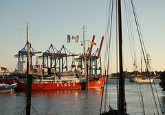 Feuerschiff im Museumshafen Ovelgönne