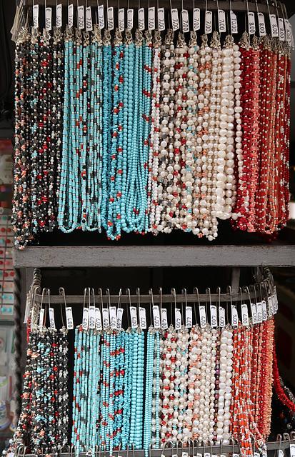 Beads: €7 long, €4 short