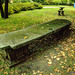 A Stone Bench