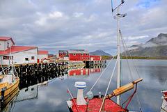 Lofots. Fredvang Harbour. 201408