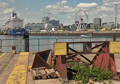 Hafen-City/ Hamburg vom Baakenhöft