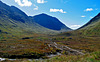 Pass with a view for two, (Lairig Gartain), Argyll, Scotland