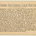 Nothing Succeeds Like Success, Galt House, Cincinnati, Ohio, ca. 1880s