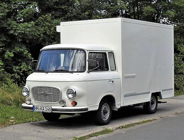 Barkas B 1000 Kofferwagen
