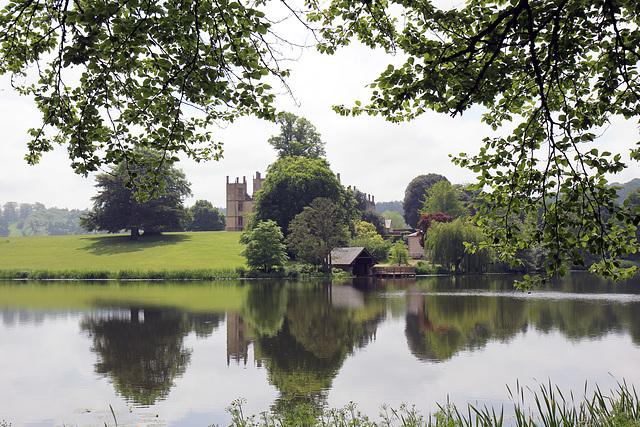 Sherborne Lake, Castle, Boathouse and Landscape