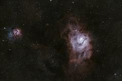 Lagoon Nebula M8 & Trifid Nebula M20