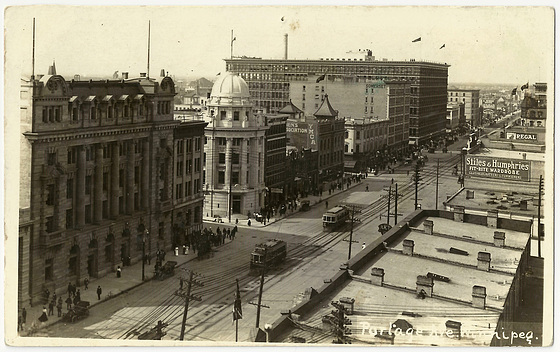 WP1999 WPG - PORTAGE AVE. (POST OFFICE - LOOKING WEST)