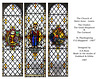 Lewes - Saint Anne - F.G.Sheppard windows - by A.E. Buss - from the studio of Goddard & Gibbs