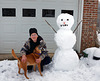My Snowman, Otis, and Me