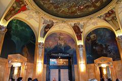 Murals by Alfons Mucha, Mayorial Hall, Municipal House, Náměstí Republiky, Prague