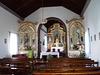 Interior of Saint Amaro Church.