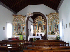 Interior of Saint Amaro Church.