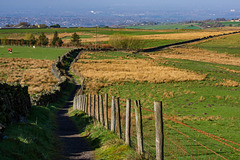 The path to Ludworth Moor