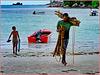 Seychelles : Praslin, fine giornata in mare