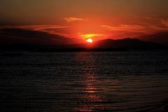 Sunset in Altınova