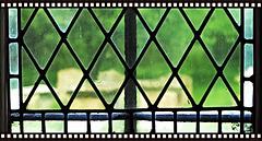 Window in a Church Like a Negative