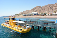Israel, Eilat, Underwater Observatory Marine Park