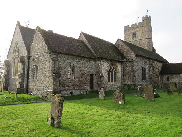 lenham church,  kent,  (2)