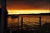 Der Gnadensee zwischen Tag und Nacht, Sonnenschein und Regenschauer