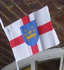 DSCF0290 St. Edmund of Suffolk flag