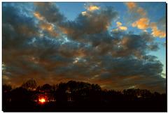 Landwehr   Sonnenuntergang