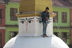 Bodnath = Boudhanath (Kathmandu, Népal)