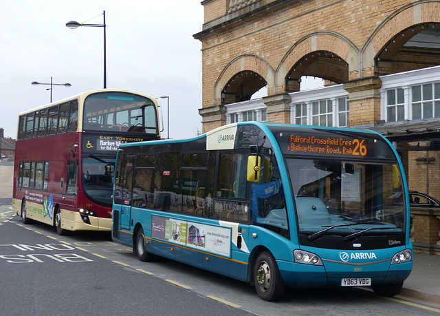 Buses around York (11) - 23 March 2016