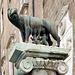 Le symbole de Rome - La louve du Capitole avec les jumeaux Romulus et Remus