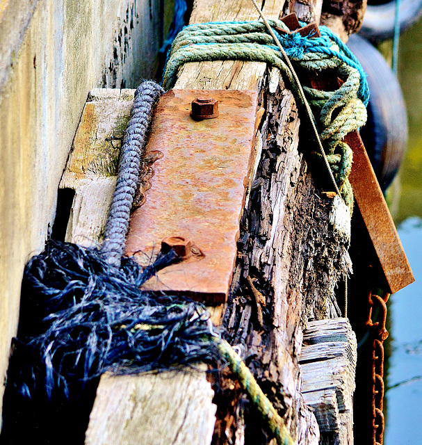 Ropes Rot and Rust