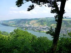 DE - Andernach - View across the Rhine towards Leutesdorf